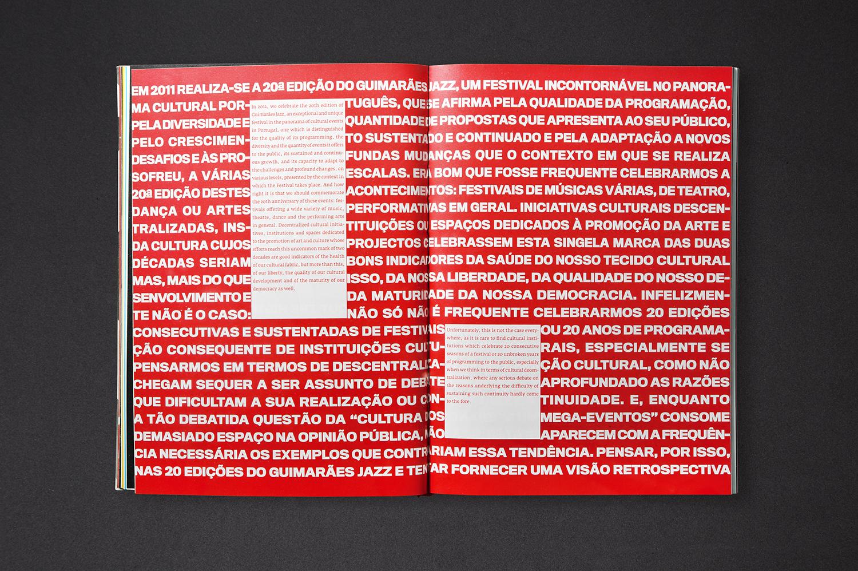 OSCAR MAIA Commemorative Book — 20 Years of Guimarães Jazz