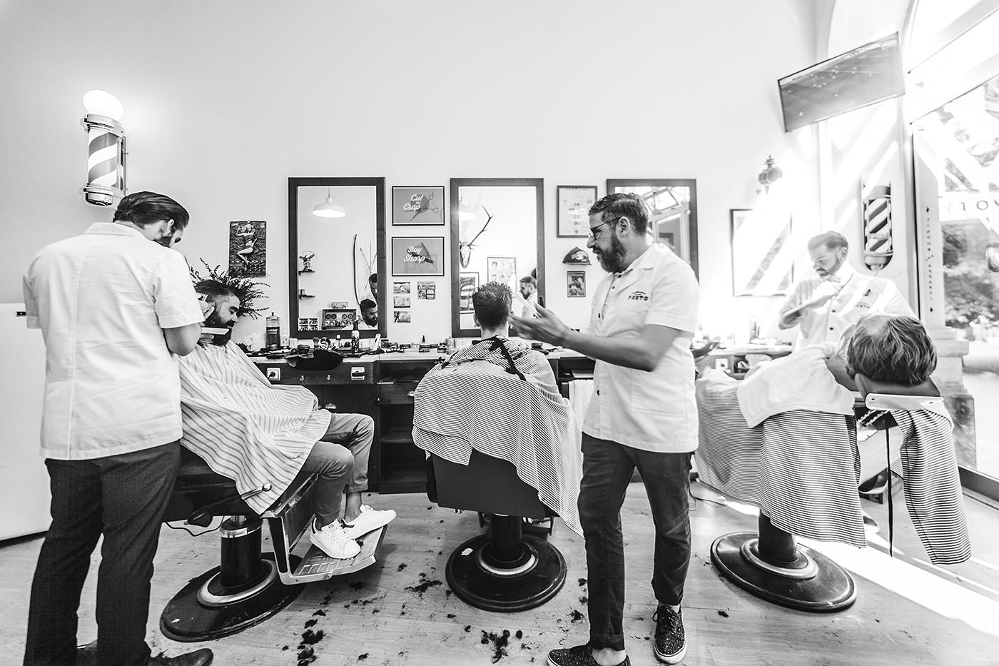 OSCAR MAIA Barbearia Porto