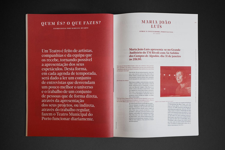 OSCAR MAIA Porto City Theatre Programme Booklets