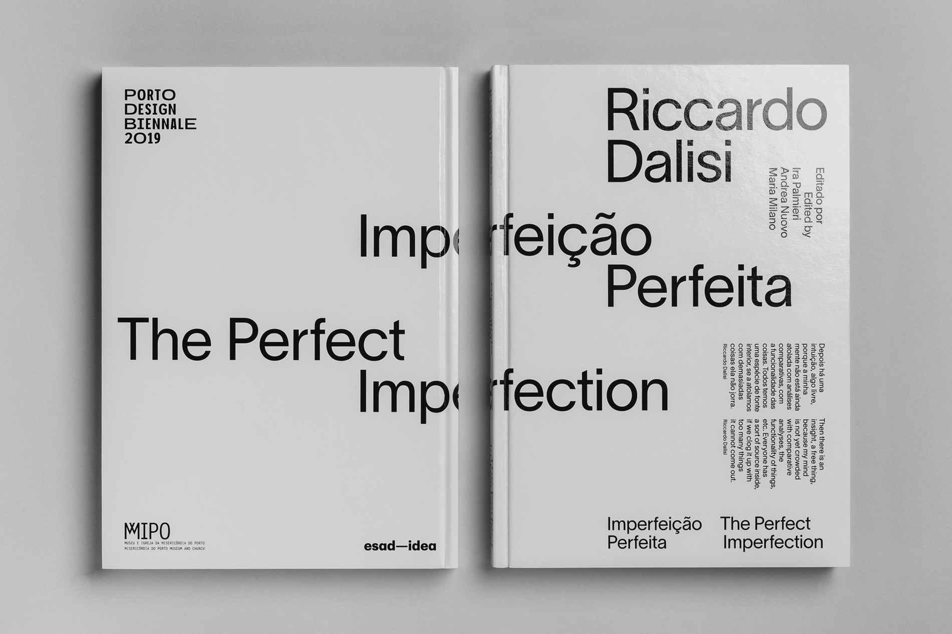 OSCAR MAIA Riccardo Dalisi – The Perfect Imperfection Catalog